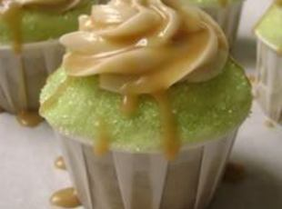 Caramel Appletini Cupcakes (Photo from Just a Pinch)